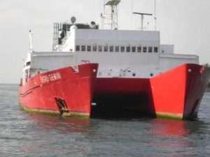 Catamaran Waterline