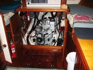 Yacht Engine Room